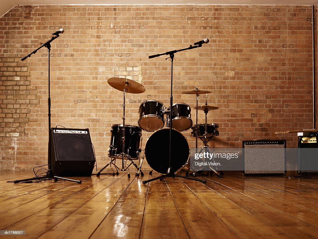 Media Gettyimages Com Photos Drum Kit Microphones