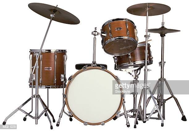 drum kit - drum kit stock photos and pictures