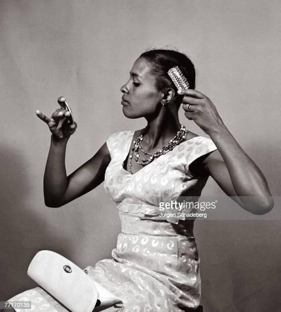 Drum magazine cover girl Priscilla Mtimkulu circa 1955
