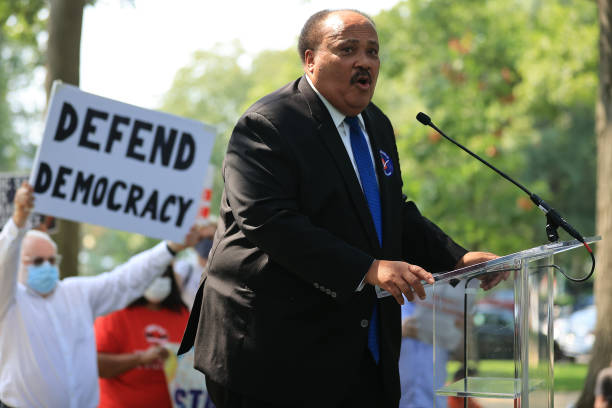 DC: Voting Rights Activists Rally At US Capitol Building Urging Senate To Pass For The People Act