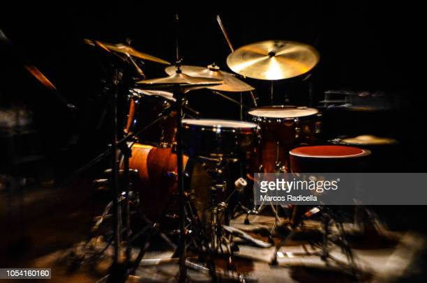 drum set - radicella stock photos and pictures