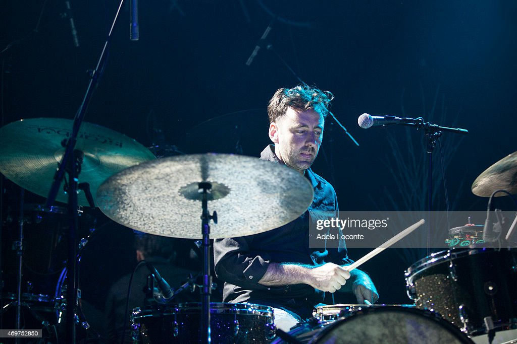 Delta rae and greg holden in concert new york ny photos and drumer of greg holden performs at webster hall on april 14 2015 in new york publicscrutiny Image collections
