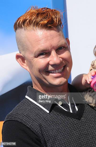Drummer Adrian Young of No Doubt attends the premiere of Warner Bros Pictures' 'Storks' at Regency Village Theatre on September 17 2016 in Westwood...