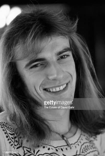 Drummer Alan White, a member of the English progressive rock group Yes, poses for a portrait in November, 1972 in Greensboro, North Carolina.