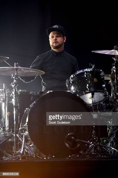 Drummer Ben Thatcher of the band Royal Blood performs onstage during KROQ Almost Acoustic Christmas 2017 at The Forum on December 9 2017 in Inglewood...