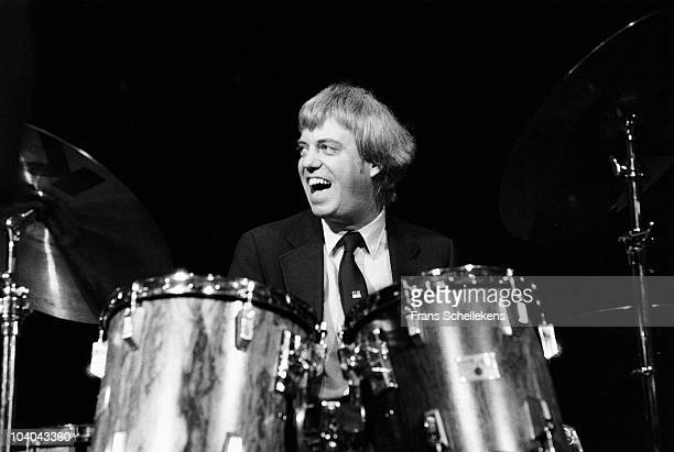 Drummer Butch Miles performs on stage at Meervaart on April 1 1984 in Amsterdam, Netherlands.