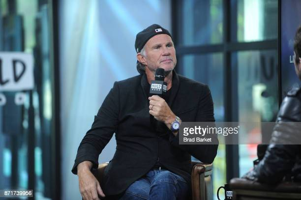 Drummer Chad Smith attends Build Presents Chad Smith Discussing Foo Fighters - Landmarks Live in Concert: A Great Performances Special at Build...