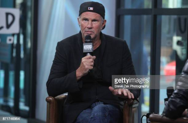 Drummer Chad Smith attends Build Series to discuss Foo Fighters Landmarks Live in Concert A Great Performances Special at Build Studio on November 8...