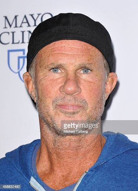 Drummer Chad Smith attends the premiere of the film 'Glen CampbellI'll Be Me' at Pacific Design Center on November 11 2014 in West Hollywood...