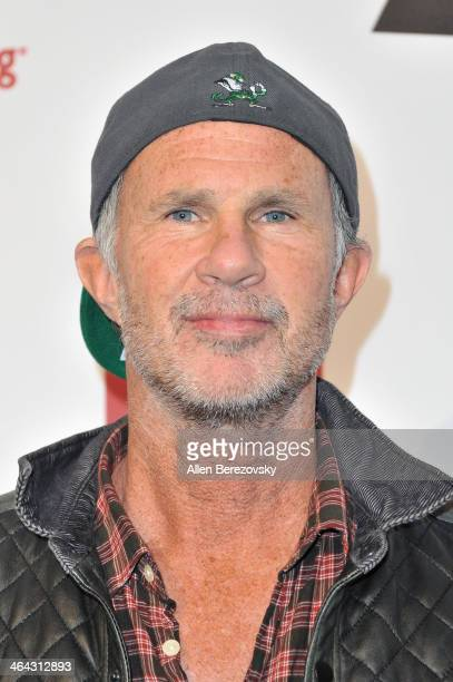 Drummer Chad Smith of Red Hot Chili Peppers attends the 7th Annual GRAMMY Week Producers Engineers Wing Event honoring Neil Young at The Village...