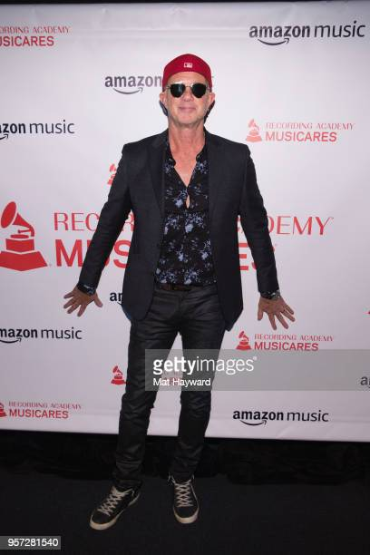 Drummer Chad Smith of the Red Hot Chili Peppers arrives at the MusiCares Concert For Recovery presented by Amazon Music at the Showbox on May 10 2018...