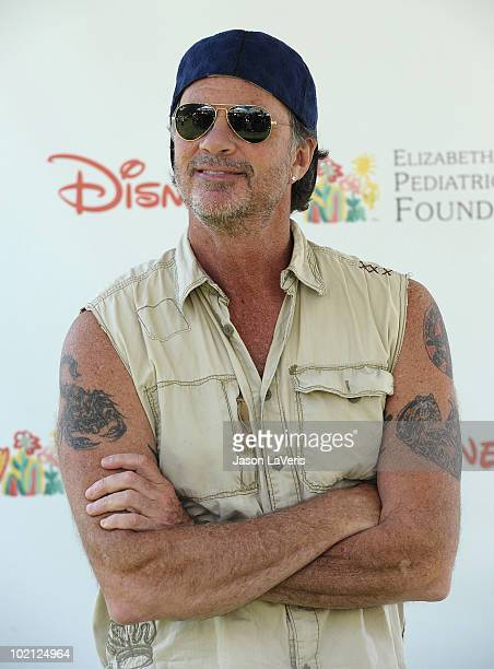 Drummer Chad Smith of the Red Hot Chili Peppers attends the 21st annual A Time For Heroes celebrity picnic benefit at Wadsworth Theater on June 13...
