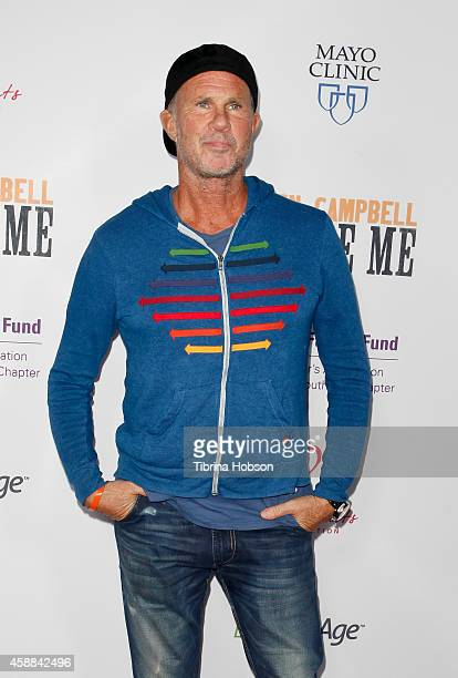Drummer Chad Smith of the Red Hot Chili Peppers attends the premiere of 'Glen CampbellI'll Be Me' at Pacific Design Center on November 11 2014 in...