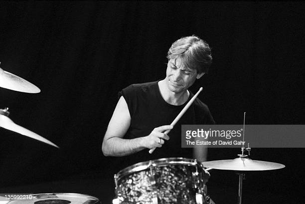 Drummer Charlie Watts of The Rolling Stones during a rehearsal at SIR Studios on June 30 1981 in New York City New York