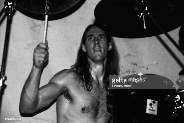 Drummer Danny Carey performs in Tool with vocalist Maynard James Keenan bassist Paul D'Amour and guitarist Adam Jones at English Acid on January 1...