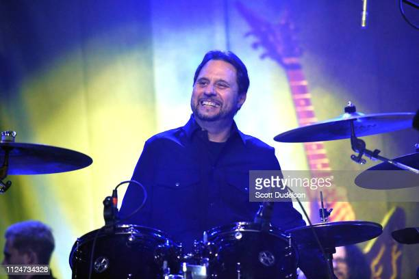 Drummer Dave Lombardo founding member of Slayer performs onstage during DIMEBASH 2019 at The Observatory on January 24 2019 in Santa Ana California