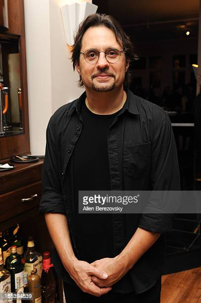 Drummer Dave Lombardo of Slayer attends Varese Sarabande Worldwide 35th Anniversary Special Halloween Concert Gala at Warner Grand Theatre on October...