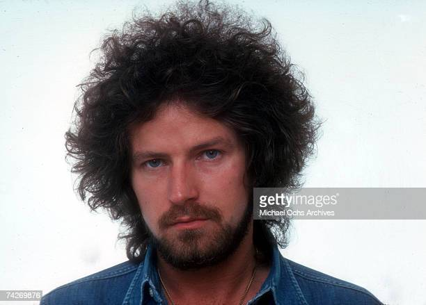 Drummer Don Henley of the rock band Eagles poses for a portrait in 1975