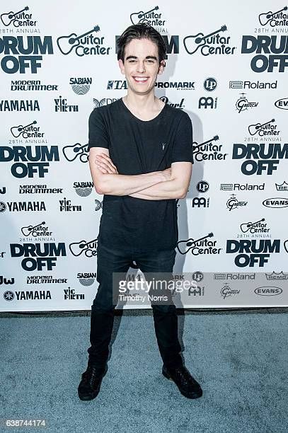 Drummer Elijah Wood attends Guitar Center's 28th Annual DrumOff at The Novo by Microsoft on January 14 2017 in Los Angeles California