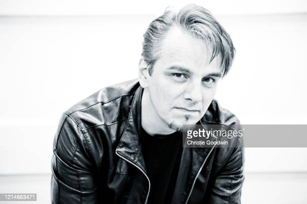 Drummer Gavin Harrison of Porcupine Tree and King Crimson poses on June 17 2011 in London England