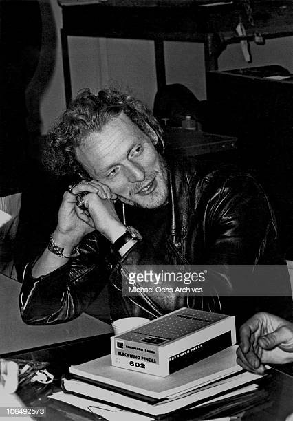Drummer Ginger Baker of the rock group Cream poses for a photo circa 1969