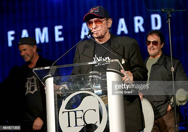 Drummer Hal Blaine attends the NAMM Tec Awards at the Anaheim Hilton on January 24 2014 in Anaheim California