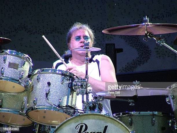 Drummer Ian Paice of Deep Purple performs on stage at the Monsters Of Rock concert at Milton Keynes Bowl on June 30th 2006 in Milton Keynes England