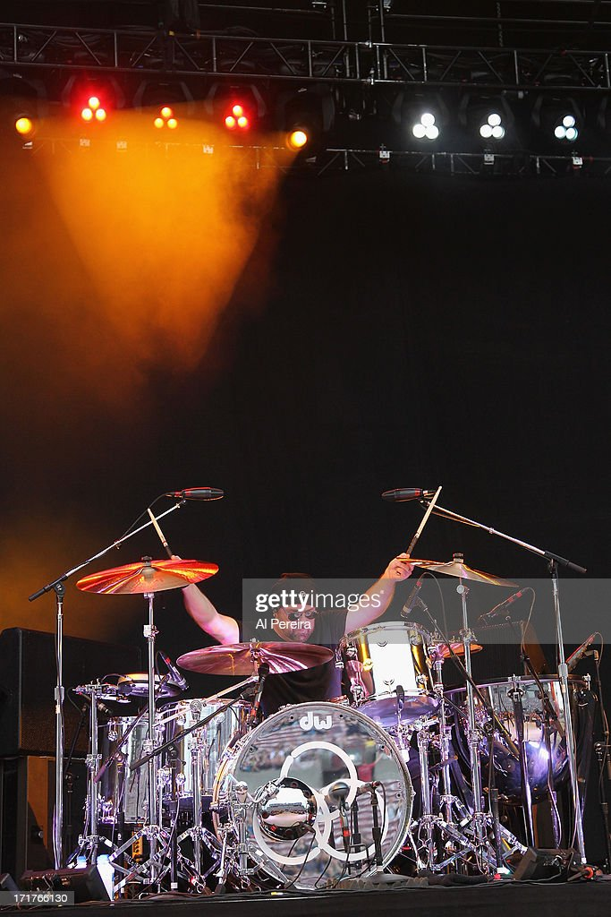 Drummer Jason Bonham and Jason Bonham's Led Zeppelin Experience perform during the Heartbreaker Tour at Nikon at Jones Beach Theater on June 27, 2013 in Wantagh, New York.