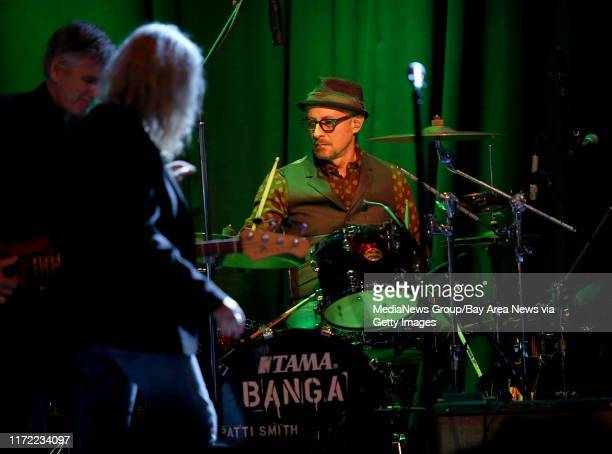 Drummer Jay Dee Daugherty performs with Patti Smith during a soldout show at The Fillmore in San Francisco Calif on Wednesday Jan 21 2015 Smith also...