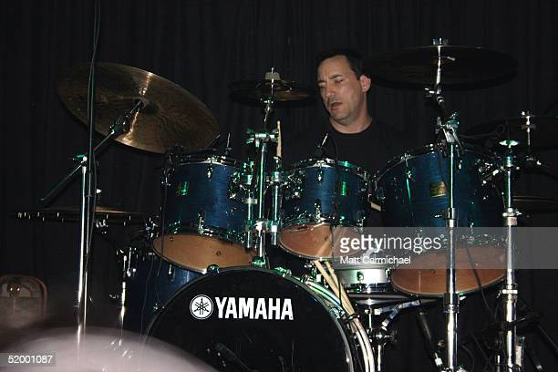 Drummer Jimmy Chamberlin who used to play with Smashing Pumpkins and Zwan performs with his new band The Jimmy Chamberlin Complex on January 15 2005...