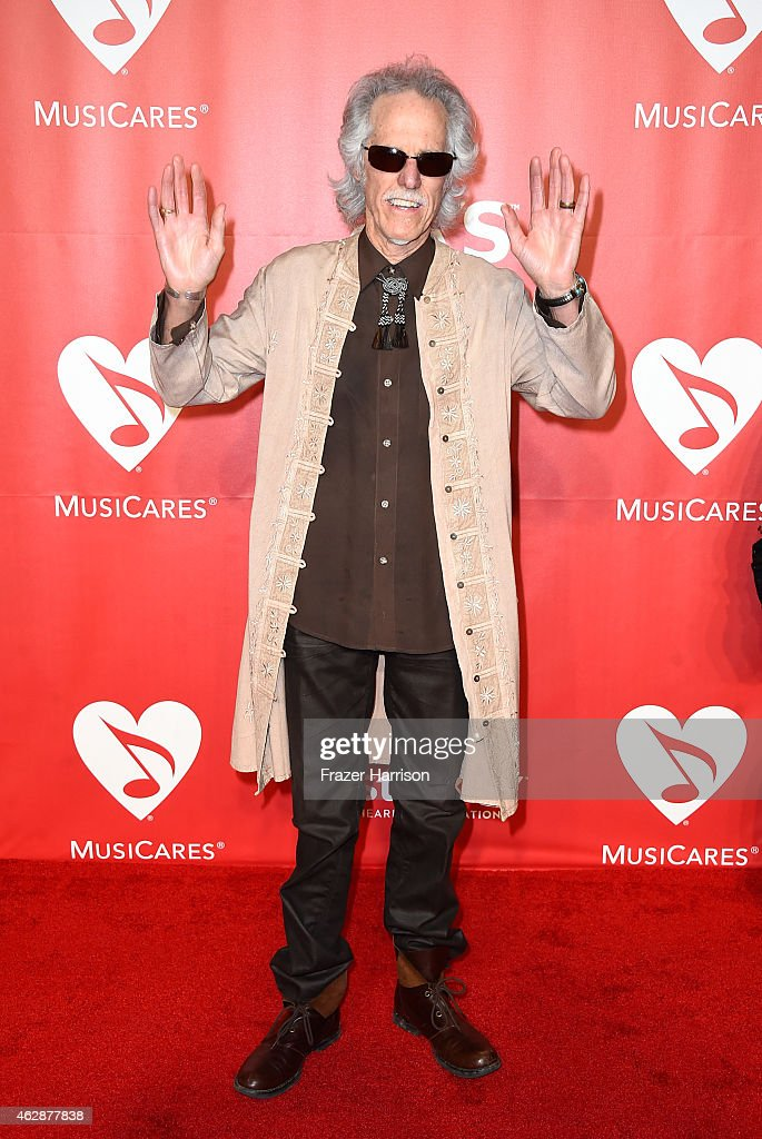 Drummer John Densmore attends the 25th anniversary MusiCares 2015 Person Of The Year Gala honoring Bob Dylan at the Los Angeles Convention Center on February 6, 2015 in Los Angeles, California. The annual benefit raises critical funds for MusiCares' Emergency Financial Assistance and Addiction Recovery programs.