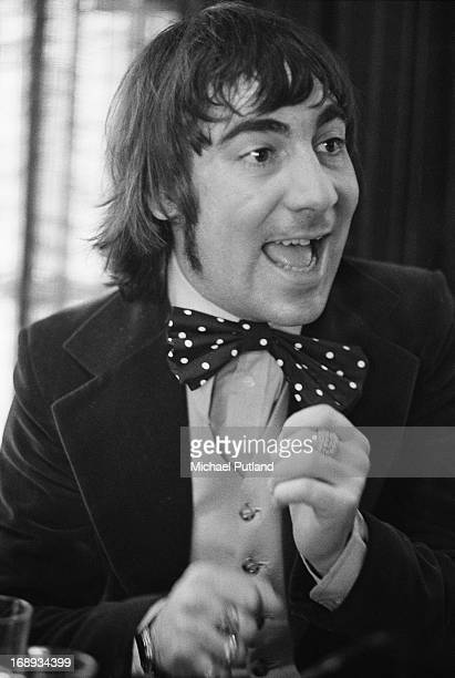 Drummer Keith Moon of English rock group The Who, 24th April 1973.