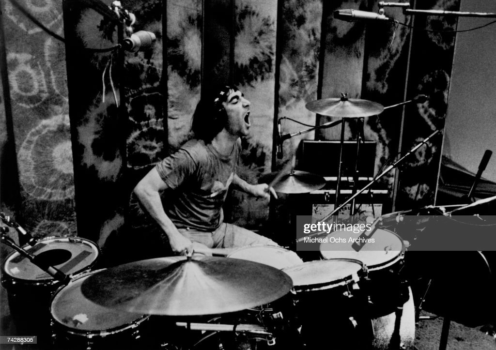 """The Who"" Drummer Recording : News Photo"