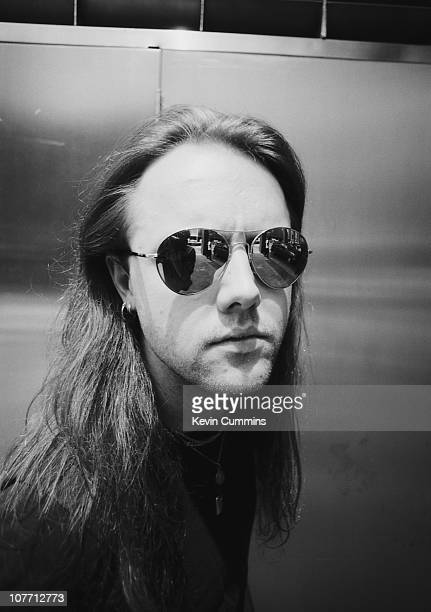 Drummer Lars Ulrich of American heavy metal band Metallica in New York City 10th July 1991