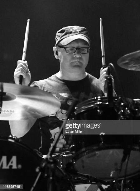 Drummer Martin Bulloch of Mogwai performs during Psycho Las Vegas at the Mandalay Bay Events Center on August 18 2019 in Las Vegas Nevada