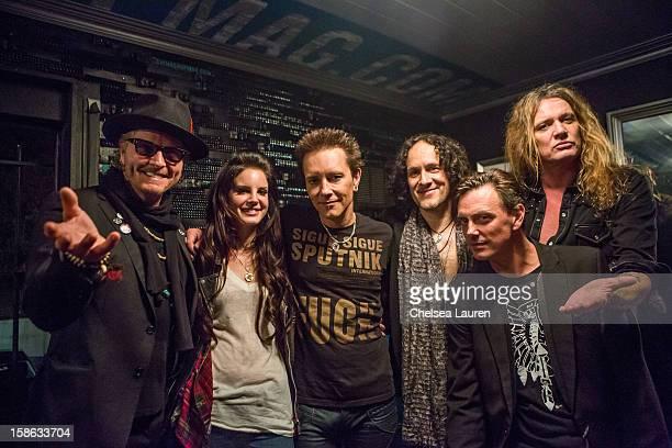 Drummer Matt sorum, singer Lana Del Rey, guitarist Billy Morrison, guitarist Vivian Campbell, vocalist Donovan Leitch and vocalist Sebastian Bach...