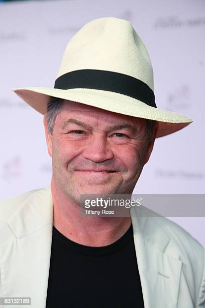 Drummer of the Monkees Micky Dolenz poses at the Lili Claire Foundation's 11th Annual Benefit Dinner and Concert on October 4 2008 at the Santa...
