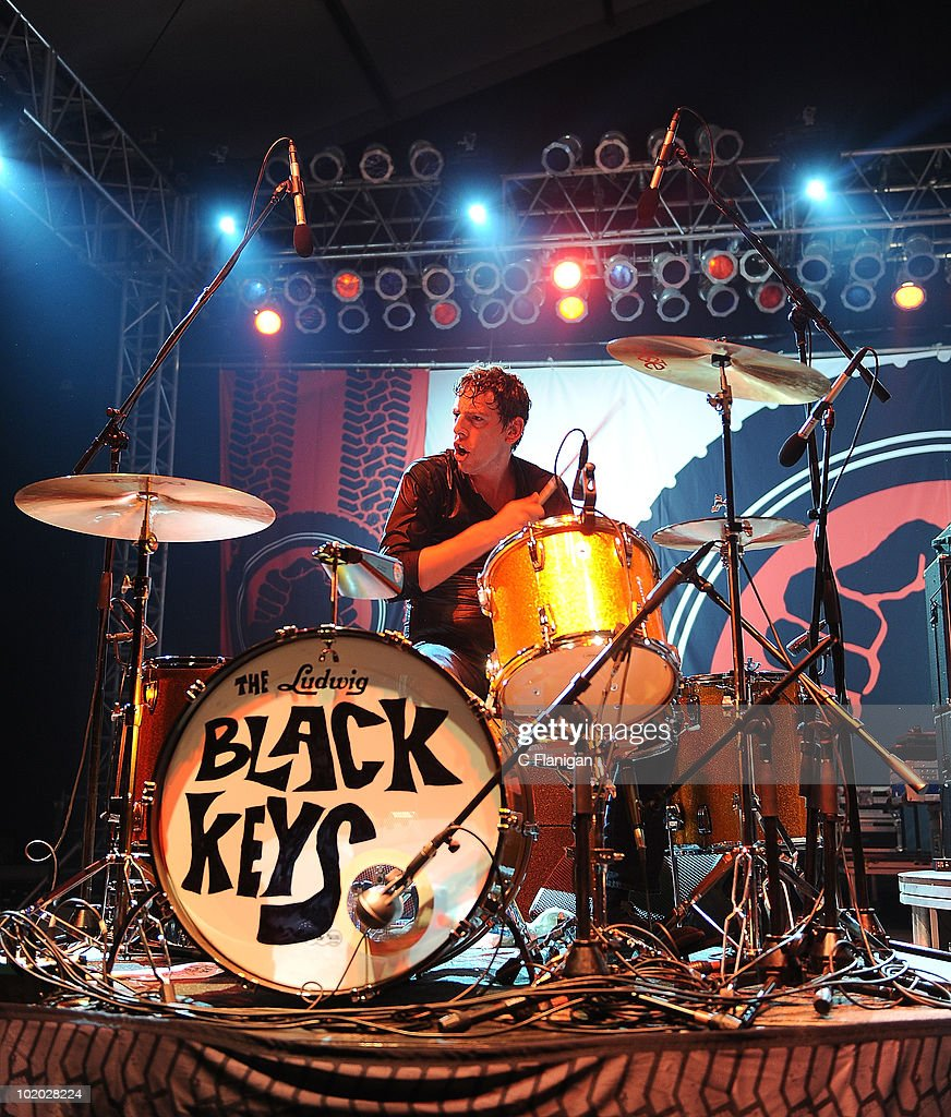 Drummer Patrick Carney of The Black Keys performs during day 2 of the Bonnaroo Music and Arts Festival at the Bonnaroo Festival Grounds on June 11, 2010 in Manchester, Tennessee.