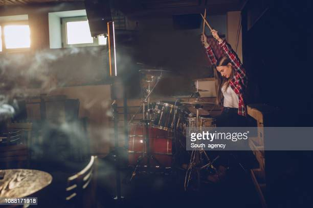 drummer - rehearsal stock pictures, royalty-free photos & images