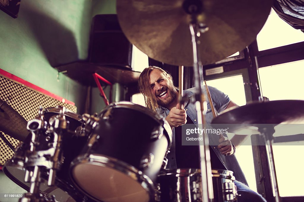 Drummer : Stock Photo
