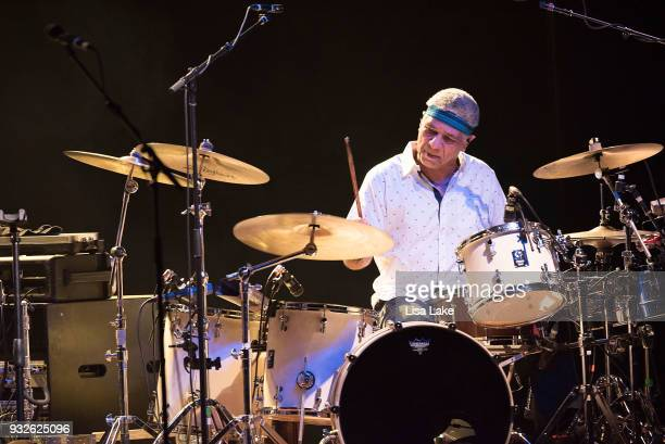 Drummer Richard Bailey performs on stage at Sands Bethlehem Event Center on March 15 2018 in Bethlehem Pennsylvania