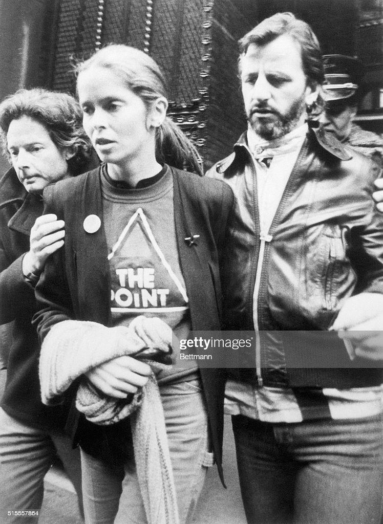 Ringo Starr and Barbara Bach : News Photo