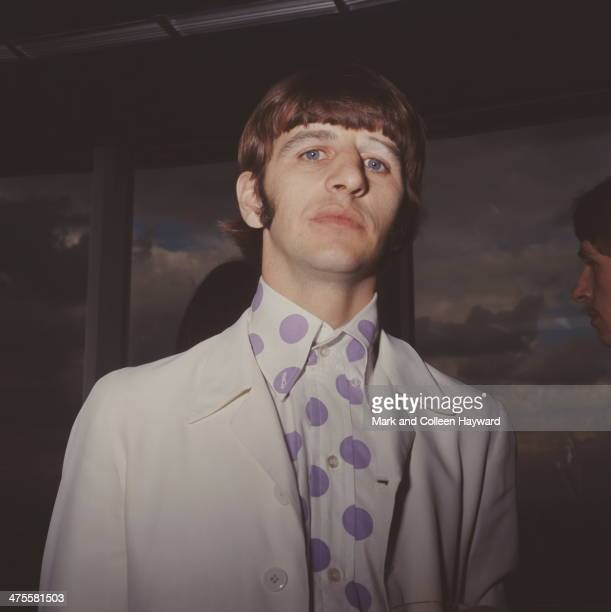 Drummer Ringo Starr of the Beatles at the Melody Maker awards, London, 13th September 1966. Readers of the magazine have voted the Beatles best group...