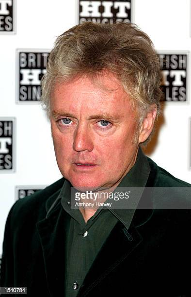 Drummer Roger Taylor of Queen attends an award ceremony for the best hit single of all time as voted for by the Guiness Book of Records for 'Bohemian...