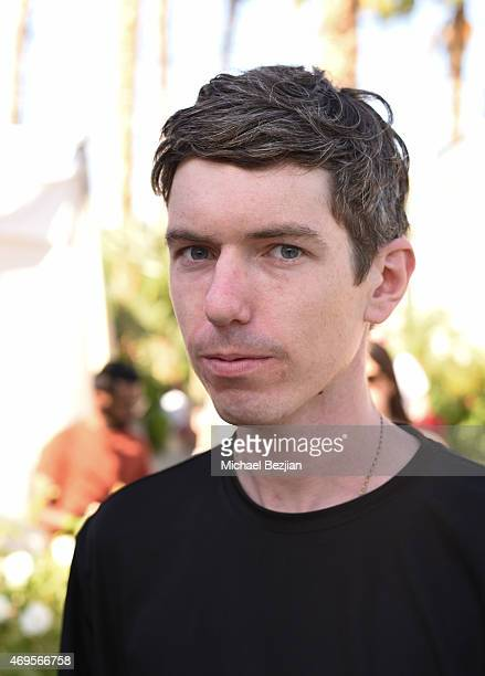 Drummer Rory O'Connor at Soho Desert House on April 12, 2015 in La Quinta, California.