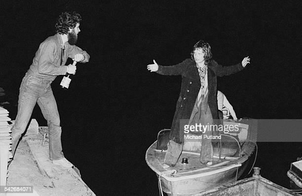 Drummer Tony Braunagel and guitarist Paul Kossoff of British rock group Back Street Crawler, Cornwall, 2nd May 1975.