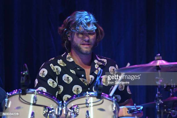 Drummer Tyler Williams of The Head and the Heart performs during the Signs of Light tour on September 26 2017 at Massey Hall in Toronto ON Canada