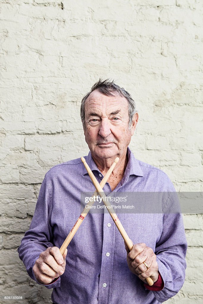Drummer with Pink Floyd, Nick Mason is photographed for Paris Match on October 5, 2016 in London, England.