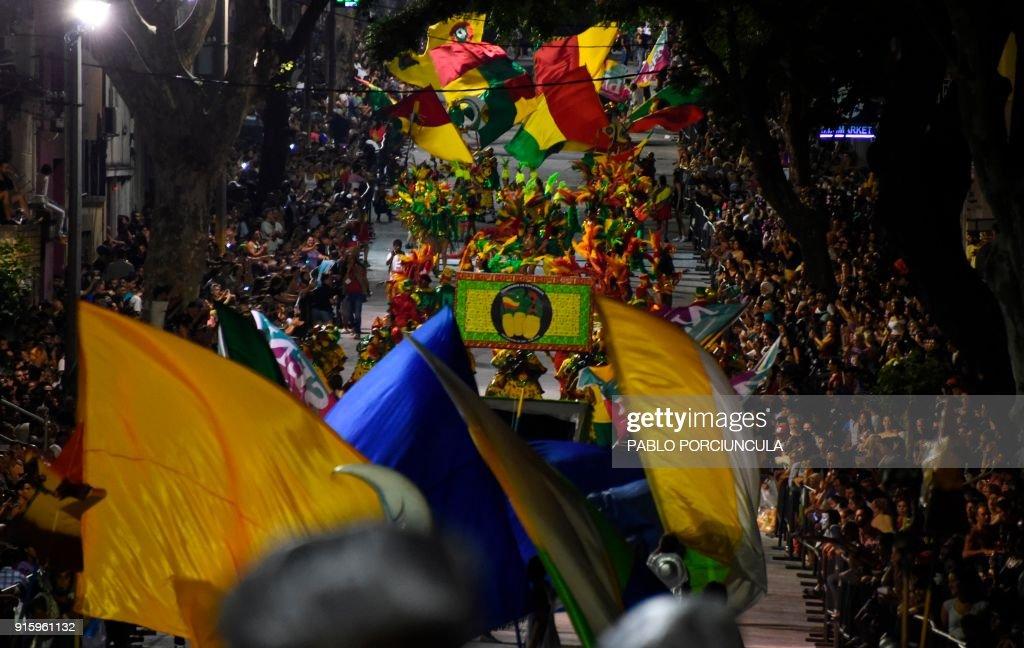 URUGUAY-CARNIVAL-LLAMADAS : News Photo