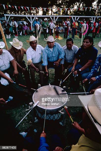 Drummers at a Powwow